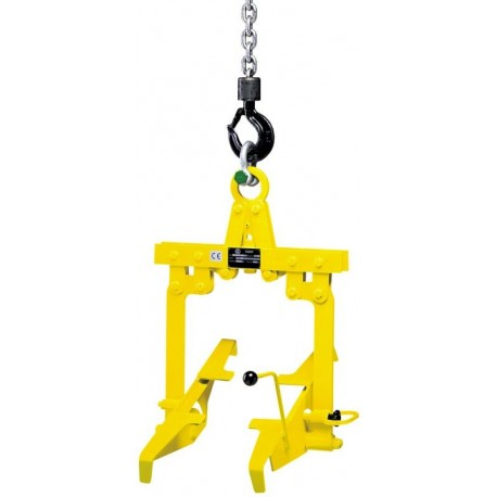 TKA/d Crate grab with tipping device YLAe