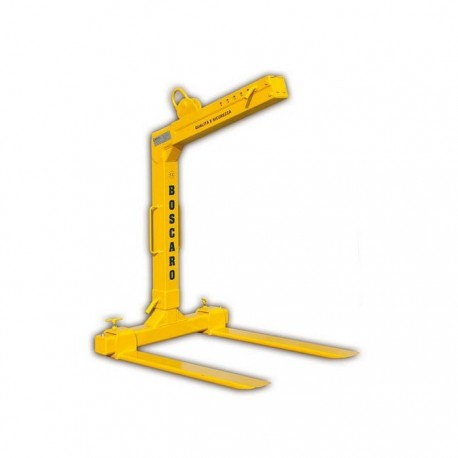 MBRA-E Telescopic automatic balance pallet fork BOSCARO