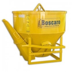 CL Concrete bucket with central and side unloading BOSCARO