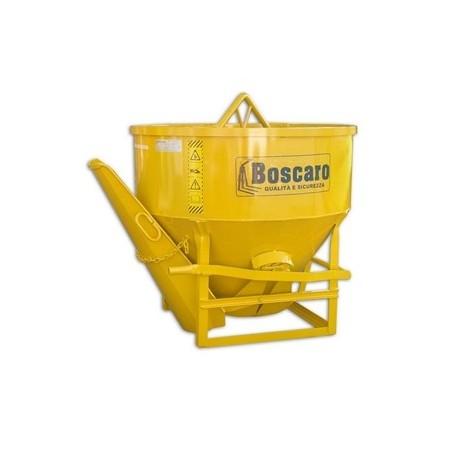 CL Betonkübel mit Mittel- und Seiten Entladen BOSCARO