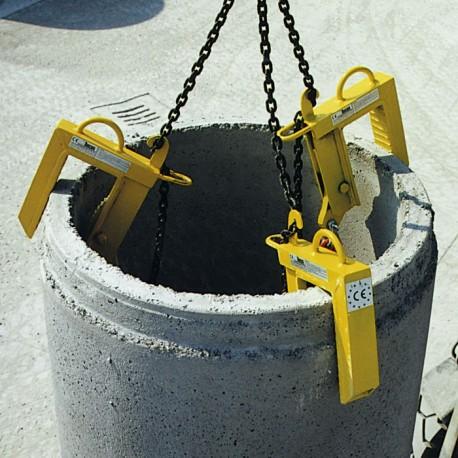PZB Manhole ring clamp BOSCARO