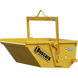 A-D Self discharging boat skip BOSCARO