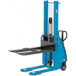 EHH PSE Ručný vysokozdvihžný paletizačný vozík s elektro-hydraulickým zdvihom PFAF Silberblau