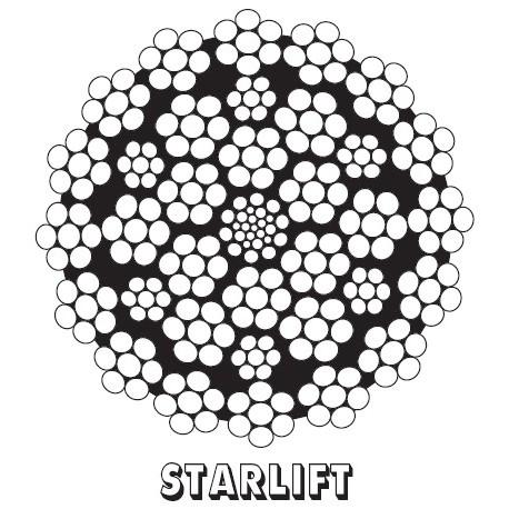 STARLIFT zdvihové lano  - CASAR