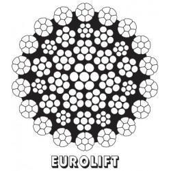 EUROLIFT nekrútivé zdvihové lano CASAR