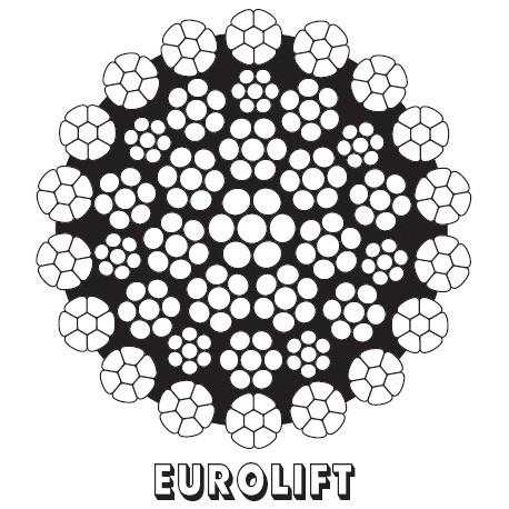 EUROLIFT Kranseile CASAR