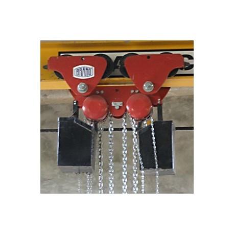 Z220/15T-20T / BRANO Z220/15T-20T Travelling pulley block