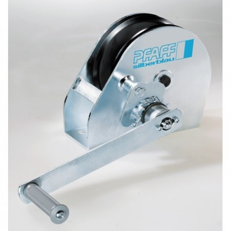 LB Console-mounted winch PFAFF silberblau