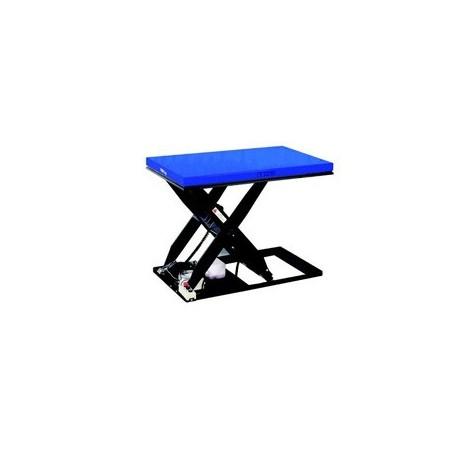 HTF-E SILVERLINE Zdvíhací stôl PFAFF silberblau