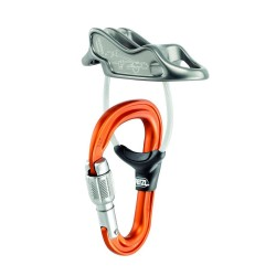 D18AT R/ UNIREVERSO Belay system PETZL