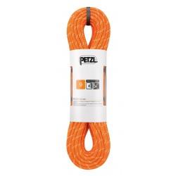 R40AO 040 / PUSH 9 mm Semistatické lano PETZL