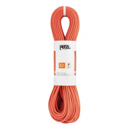 R21AC 050 / SALSA 8,2 Polovičné dynamické lano PETZL