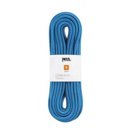 R42AB 030 / CONGA 8,0 Pomocná šnúra pre pešiu turistiku PETZL