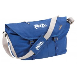 S11AB / KAB Large volume rope bag with bandolier, integrated belt and tarp PETZL