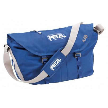 S11AB / KAB Seilsack mit großem Volumen, Umhängegurt, Hüftgurt und integrierter Seilplane PETZL