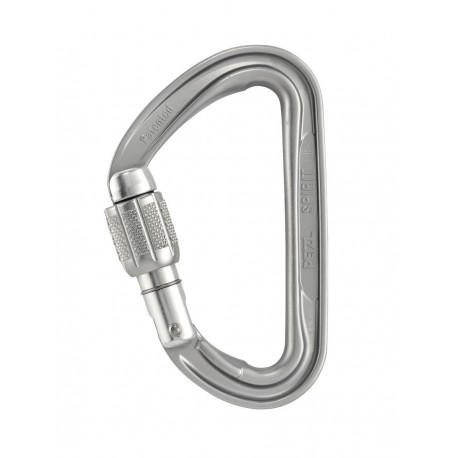 M53A SL / SPIRIT SCREW-LOCK Compact, ultra-lightweight screw-lock carabiner PETZL
