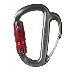 M42 / FREINO Carabiner with friction spur for descenders PETZL
