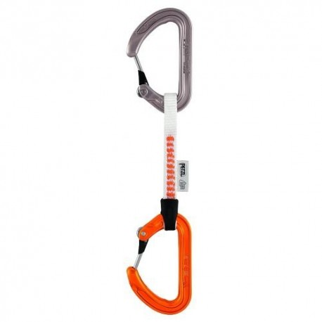 M57D 10 / ANGE FINESSE Quickdraw with ultra-light ANGE carabiners PETZL