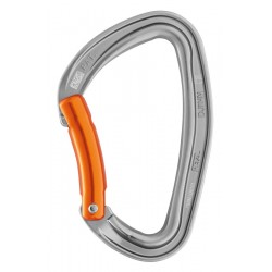 M60A O / DJINN Carabiner available in  bent gate versions PETZL