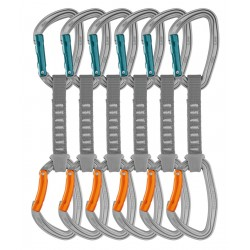 M60AP 12 / DJINN AXESS Pack of 6 durable quickdraws for crag climbing PETZL