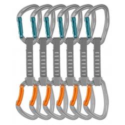 PETZL DJINN AXESS Pack of 6 durable quickdraws