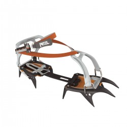 T03A FL / IRVIS FLEXLOCK 10-point crampons for ski touring and glacier travel PETZL