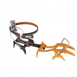 T24A LLF / DARTWIN Dual-point crampon for ice climbing, with LEVERLOCK FIL bindings PETZL