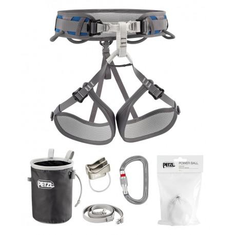 K30ES 2C / KIT CORAX Climbing kit size 2 PETZL