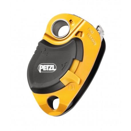 P51A / PRO TRAXION  Vor Herunterfallen geschützte Hochleistungsumlenkrolle mit Rücklaufsperre PETZL