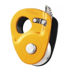P53 / MICRO TRAXION  High efficiency, ultra-light progress capture pulley PETZL