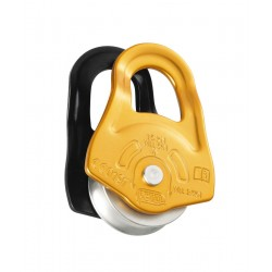 P52A / PARTNER  Compact pulley with swinging side plates  PETZL