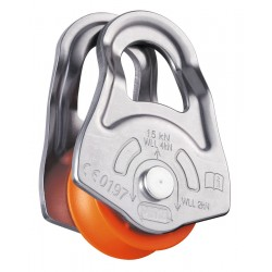P02A / OSCILLANTE  Swing-sided emergency pulley PETZL