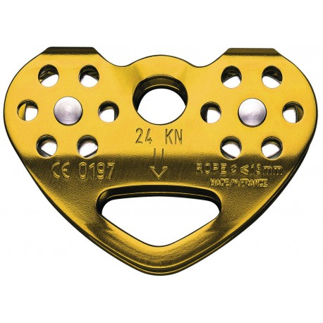 P21 CAB / TANDEM® CABLE  Dvojitá kladka pre nylonové a oceľové laná PETZL