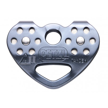 P21 SPE / TANDEM® SPEED  Efficient double pulley for travel along ropes and cables PETZL
