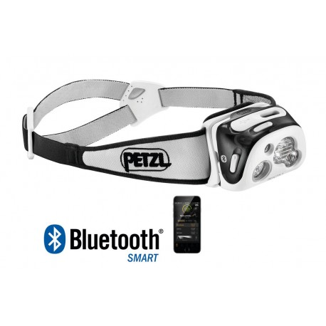 E95HNE / REACTIK® + Multi-beam headlamp that is connected, thanks to the MyPetzl Light mobile app PETZL