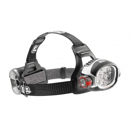 E52 H / ULTRA® RUSH  Ultra-powerful headlamp with CONSTANT LIGHTING technology ACCU 2 rechargeable battery PETZL