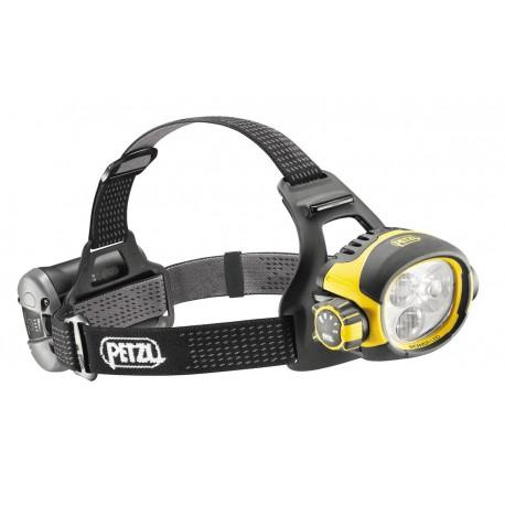 E54 H / ULTRA® VARIO Ultra výkonná čelovka s kombinovaným lúčom a dobíjacím akumulátorom PETZL