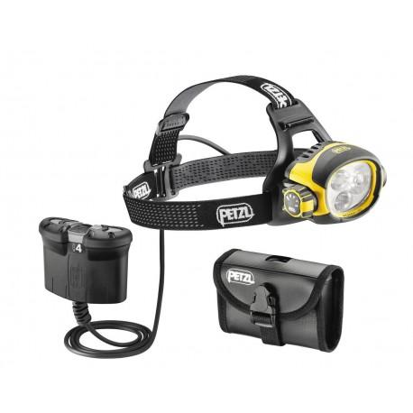 E54 B / ULTRA® VARIO BELT Ultra výkonná čelovka s kombinovaným svetlom na kábli PETZL