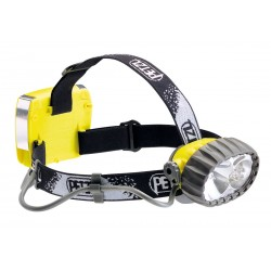 E69 P / DUO LED 5  Wasserdichte Hybrid-Stirnlampe: Halogen/5 LEDs PETZL