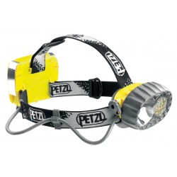 E72 P / DUO LED 14  Hybrid waterproof headlamp: halogen/14 LEDs PETZL