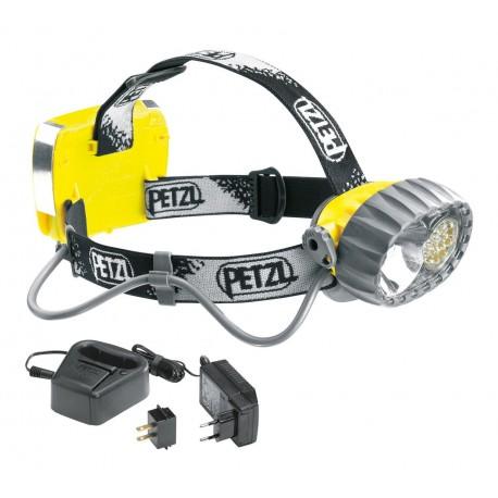 E72 AC / DUO LED 14 ACCU Čelovka so 14 diódami a akumulátorom PETZL