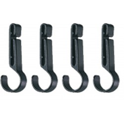 PETZL CROCHLAMP S  Headlamp clips for thin-edged helmets