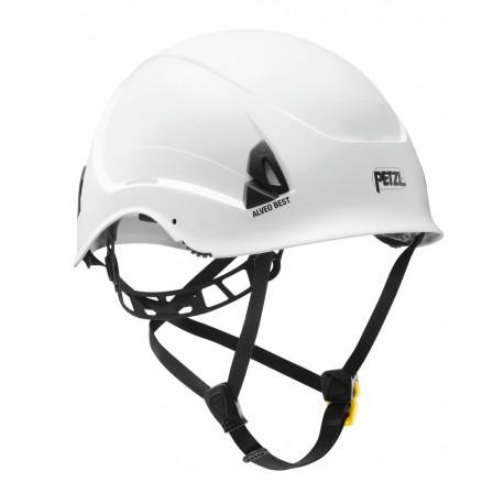 A20BWA / ALVEO BEST  Leichter Helm für Höhenarbeit und Rettung PETZL