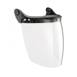 A14 / VIZEN  Eye shield with electrical protection for VERTEX and ALVEO helmets PETZL