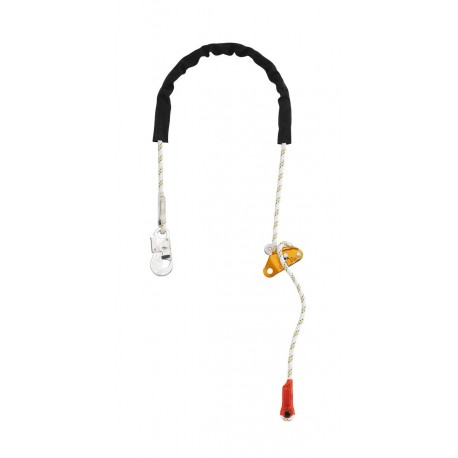 L52H / GRILLON HOOK Adjustable work positioning lanyard with HOOK connector PETZL
