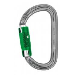 PETZL Am'D PIN-LOCK Asymmetrical aluminum carabiner