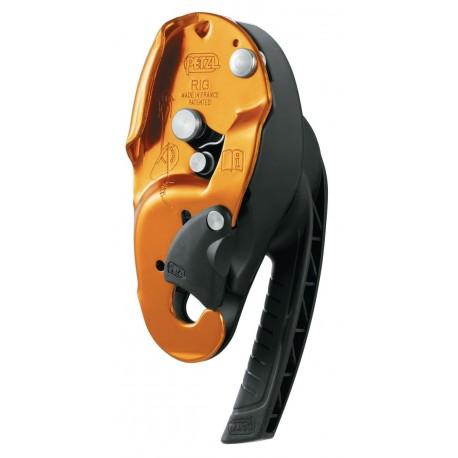 D21A / RIG Compact self-braking descender PETZL