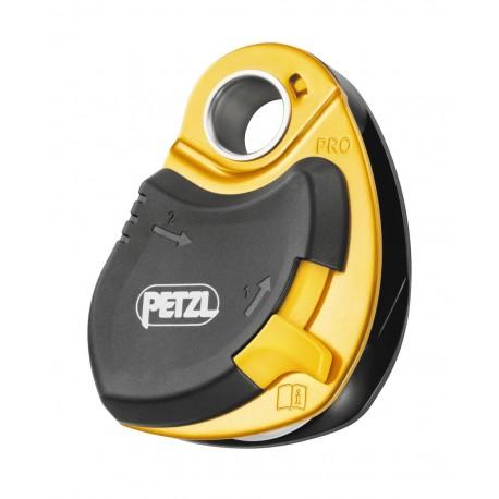 P46 / PRO  Vor Herunterfallen geschützte Umlenkrolle mit sehr hohem Wirkungsgrad PETZL