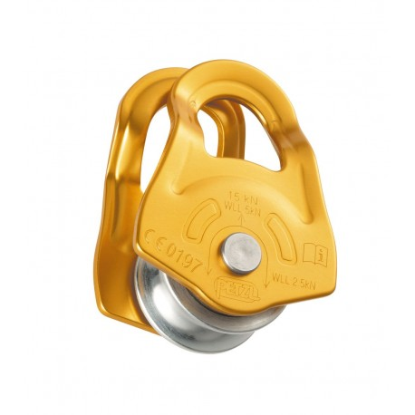 P03A / MOBILE  Versatile ultra-compact pulley PETZL