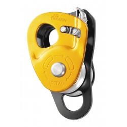 PETZL JAG TRAXION  High-efficiency double progress capture pulley
